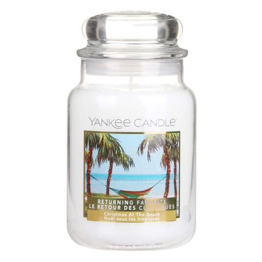 Limited Edition Christmas at the Beach Large Jar Candle