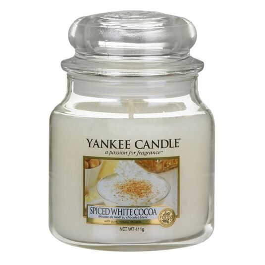 Spiced White Cocoa Medium Jar Candle