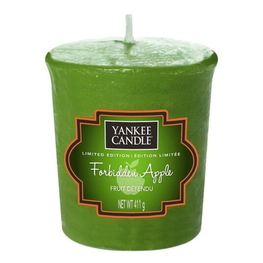 Halloween Forbidden Apple Sampler Votive Candle
