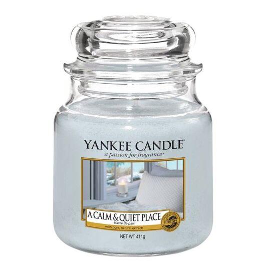 A Calm & Quiet Place Medium Jar Candle