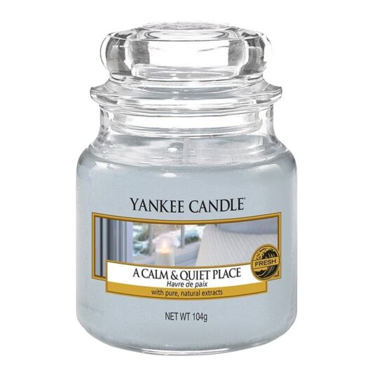 Yankee Candle Cascading Snowberry Small Jar Candle