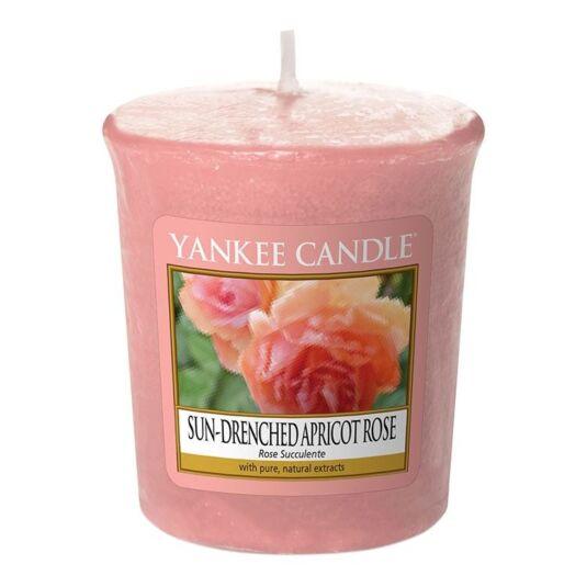 Sun-Drenched Apricot Rose Sampler Votive Candle