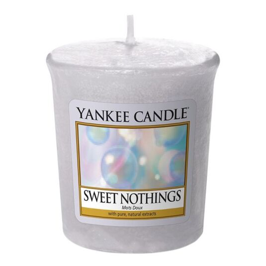 Sweet Nothings Sampler Votive Candle