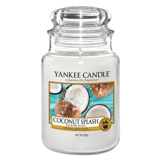 Coconut Splash Large Jar Candle