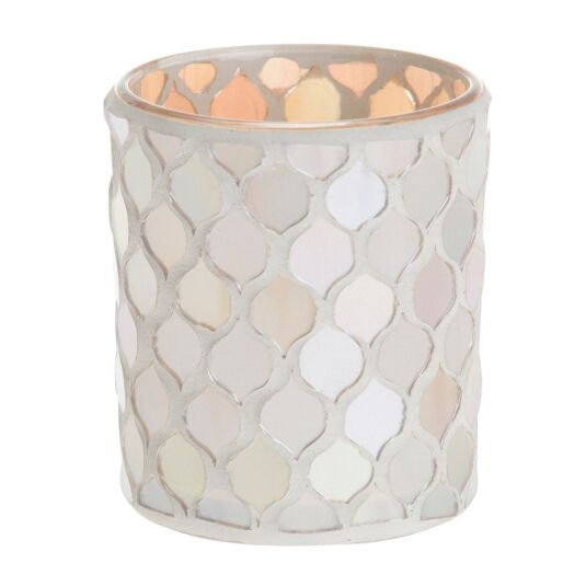 Champagne Pearl Votive Holder