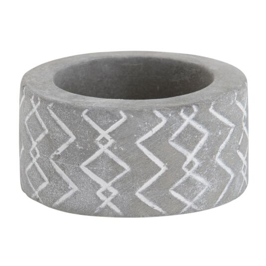 Tribal Stone Tea Light Holder 1
