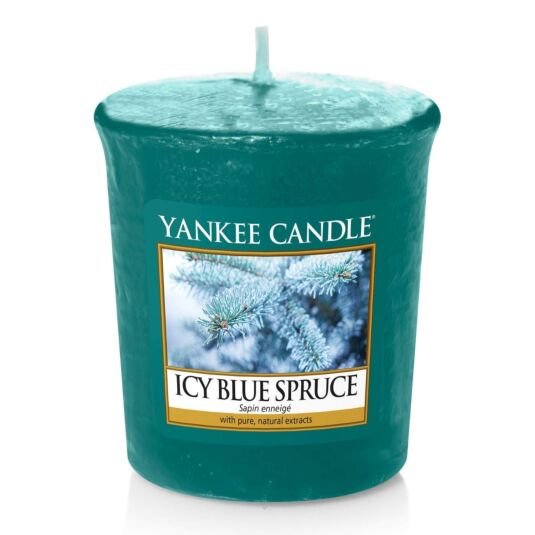 Icy Blue Spruce Votive Candle