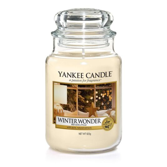 Winter Wonder Large Jar Candle