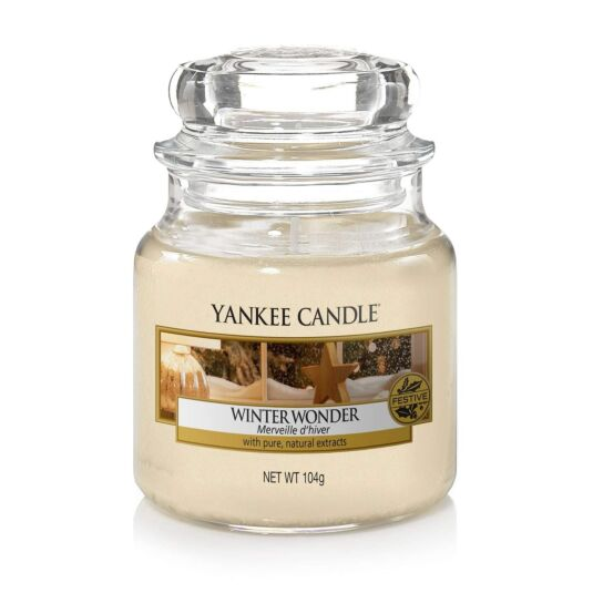 Winter Wonder Small Jar Candle