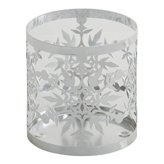 Twinkling Snowflake Frosty Jar Sleeve