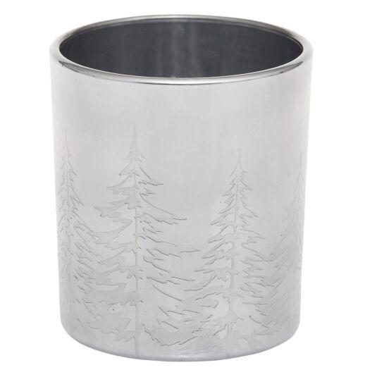 Winter Trees Votive Holder