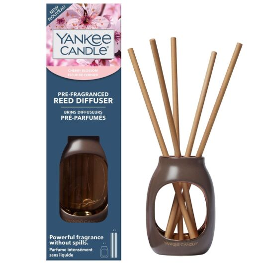 Cherry Blossom Metallic Pre-Fragranced Reed Starter Kit