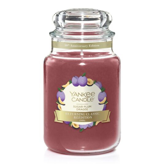 Sugar Plum Limited Edition Large Jar Candle