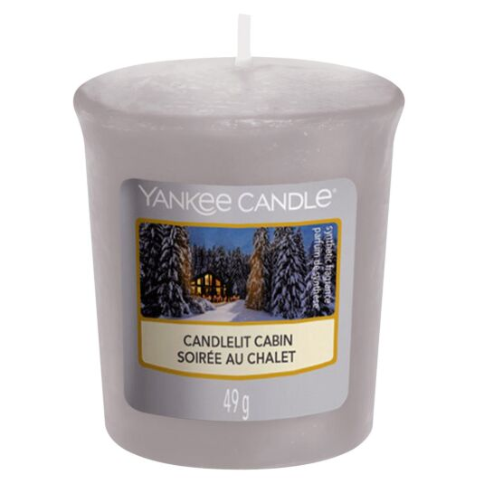 Candlelit Cabin Votive Candle