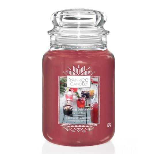Christmas Celebration Limited Edition Large Jar Candle