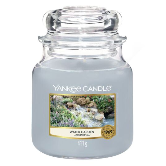 Water Garden Medium Jar Candle