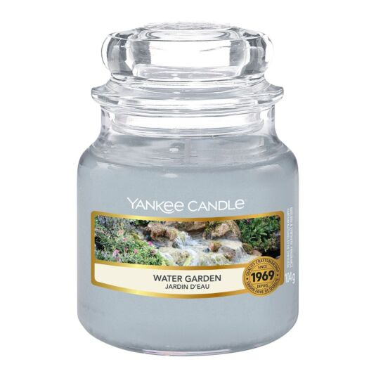 Water Garden Small Jar Candle