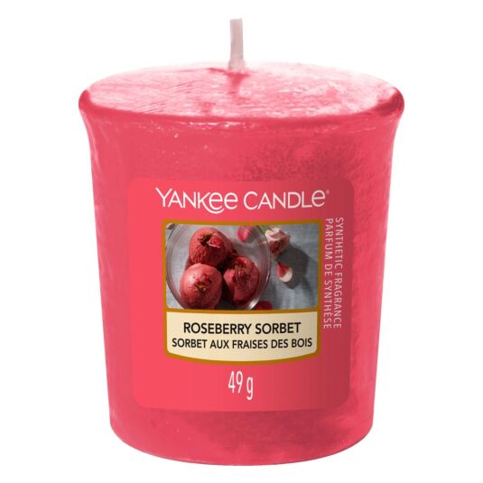 Roseberry Sorbet Sampler Votive Candle