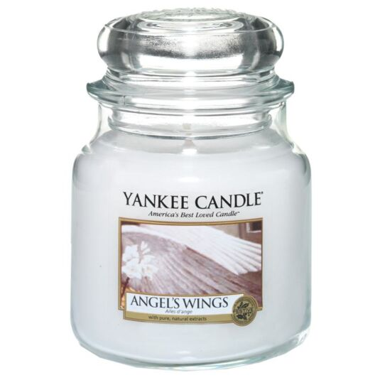 Angel's Wings Medium Jar Candle