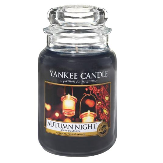 Autumn Night Large Jar Candle
