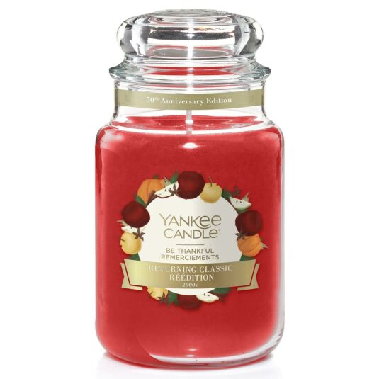 Be Thankful Limited Edition Large Jar Candle
