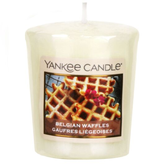 Sunday Brunch Belgian Waffles Sampler Votive Candle