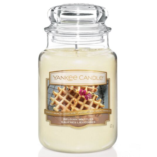 Sunday Brunch Belgian Waffles Large Jar Candle