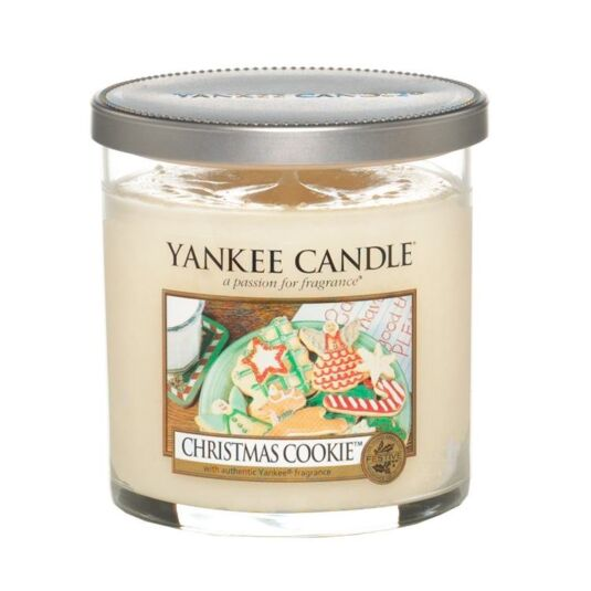 Christmas Cookie Décor Small Pillar Candle