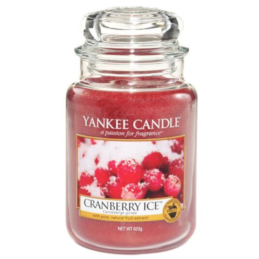 Cranberry Ice Large Jar Candle