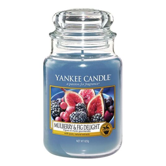 Mulberry & Fig Delight Large Jar Candle