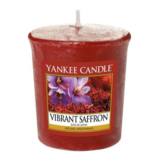 Vibrant Saffron Sampler Votive Candle