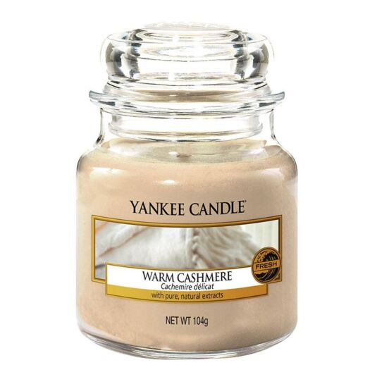 Warm Cashmere Small Jar Candle