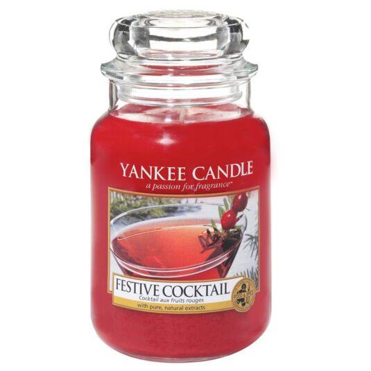 Festive Cocktail Large Jar Candle