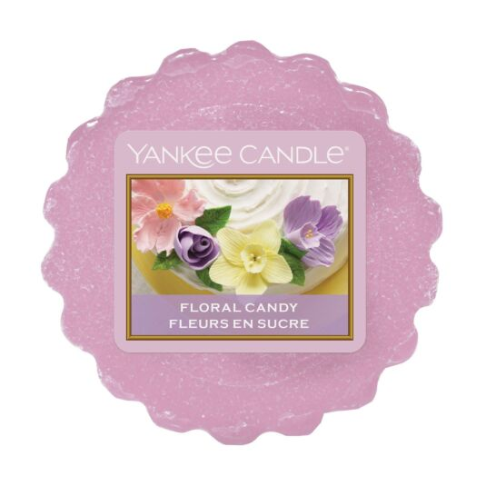 Sunday Brunch Floral Candy Wax Melt Tart