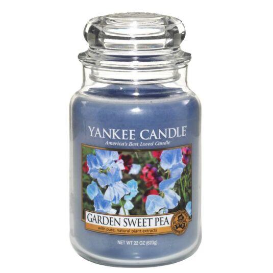 Garden Sweet Pea Large Jar Candle