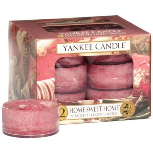 Home Sweet Home Pack of 12 Tealights