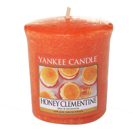 Honey Clementine Sampler Votive Candle