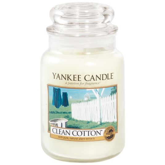 Clean Cotton Large Jar Candle