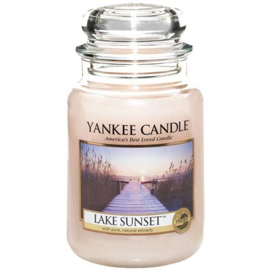 Lake Sunset Large Jar Candle