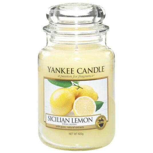 Sicilian Lemon Large Jar Candle