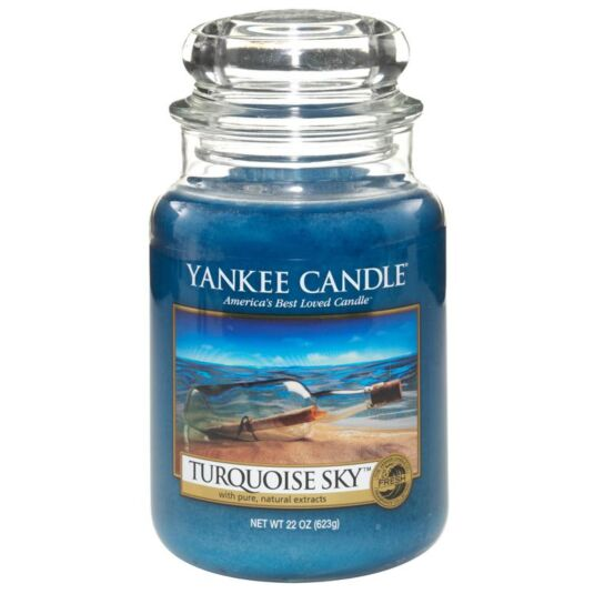 Turquoise Sky Large Jar Candle