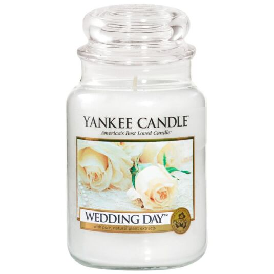 Wedding Day Large Jar Candle