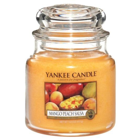 Mango Peach Salsa Medium Jar Candle