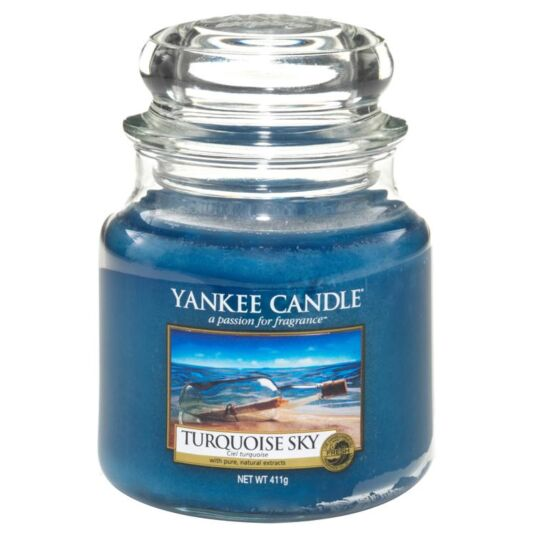 Turquoise Sky Medium Jar Candle