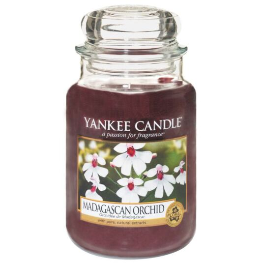 Madagascan Orchid Large Jar Candle