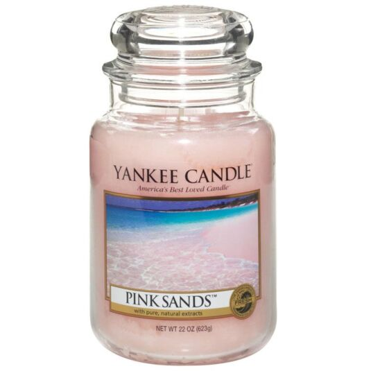 Pink Sands Large Jar Candle