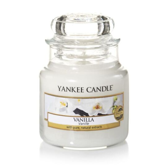 Vanilla Small Jar Candle