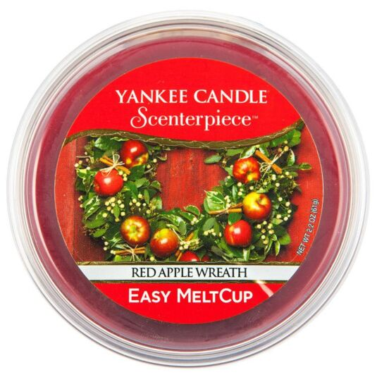 Red Apple Wreath Scenterpiece Melt Cup
