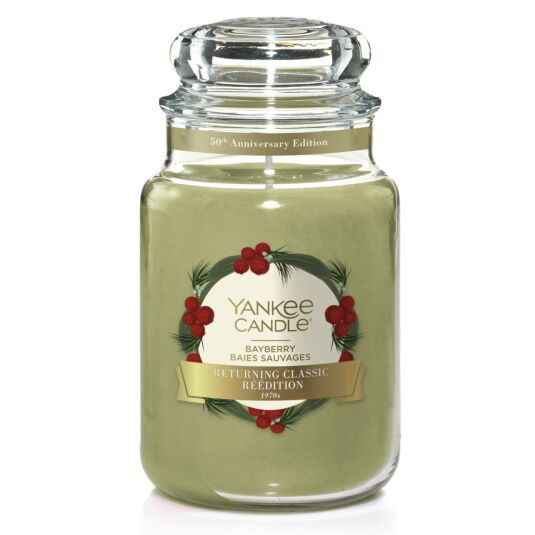 Bayberry Large Limited Edition Jar Candle