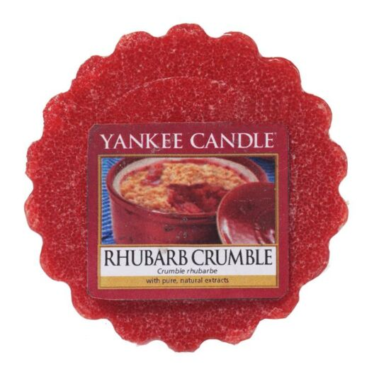Rhubarb Crumble Wax Melt Tart